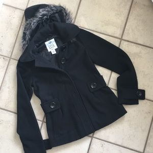 Full Tilt pea coat EUC